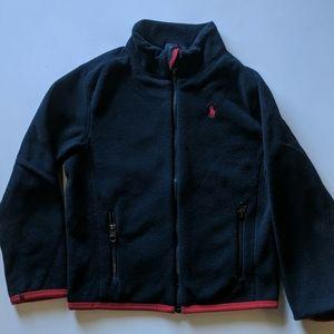 Boys Ralph Lauren Polo Full Zip Fleece Size 5